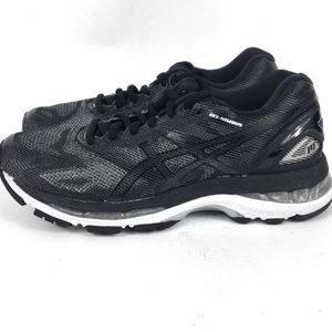 watch aae87 51865 Size 5.5 Asics Gel Nimbus 19 Black Running Shoe